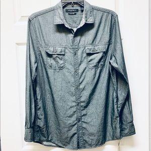 Axist Men's Button Front Shirt NWT Sz M
